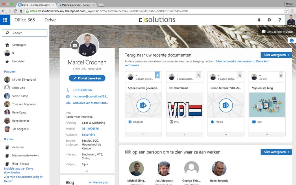 Office 365 en Sharepoint